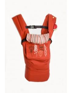 Эрго-рюкзак My baby Терракот-красный