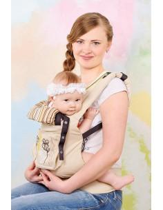 Эрго-рюкзак My baby бежевый