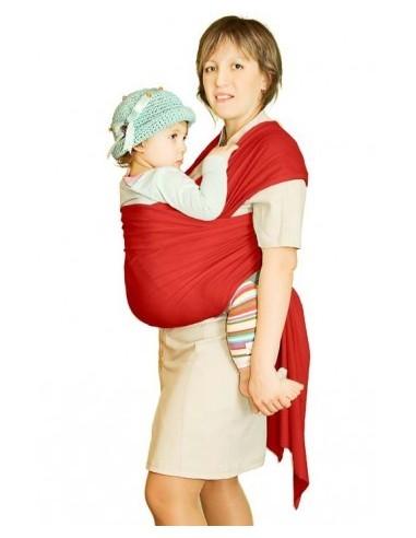 Слинг-шарф трикотажный Мороженное красный