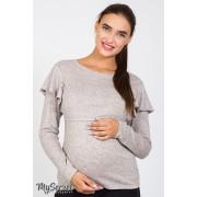 Джемпер для беременных и кормящих DORA