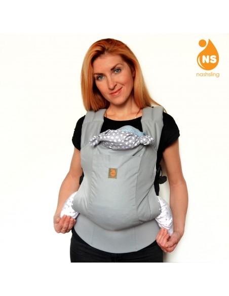 Эрго-рюкзак тм Nashsling Optima - Сильвер