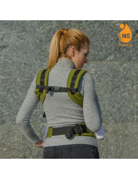 Эрго-рюкзак тм Nashsling - Climate Control - Олива