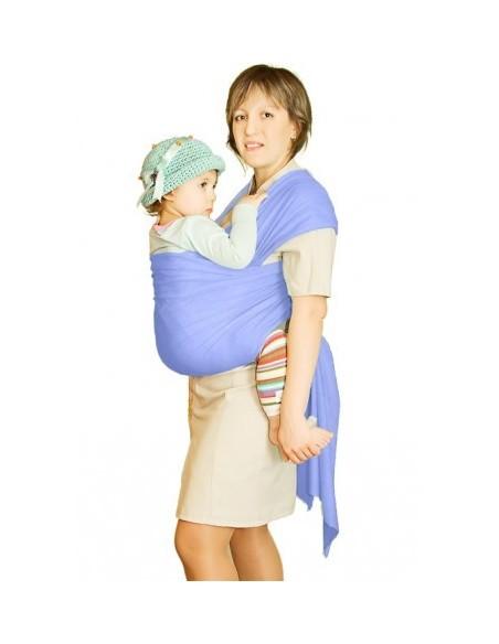 Слинг-шарф трикотажный Мороженное голубой
