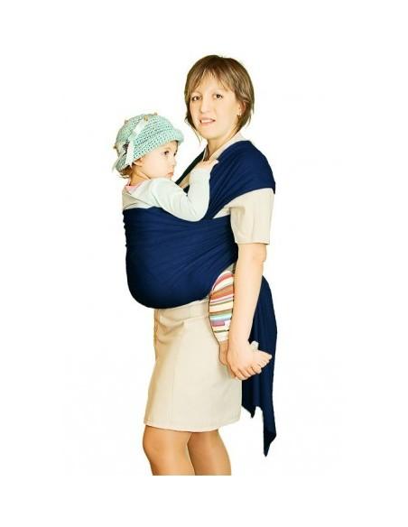 слинг-шарф трикотажный Мороженное индиго