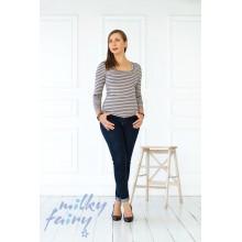 Пуловер з довгим рукавом