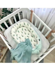Кокон Baby Design Перо мята
