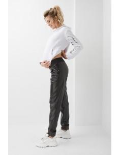 Штаны для беременных из экокожи Dianora