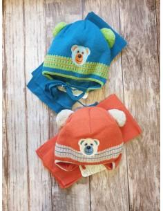 Зимняя шапочка для мальчика...