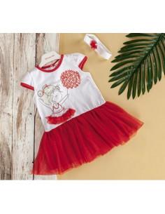 Платье с повязочкой Baby rose
