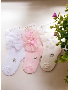 Носочки для девочек с кружевом