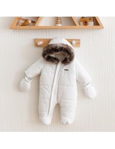 Комбинезон зимний Аляска белый